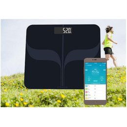 Bluetooth Body fat scale online shopping - Smart Bluetooth Body Fat Scale Human Body Weight Measuring Electronic Scale Health Management Measuring Calorie Calories