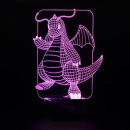 $enCountryForm.capitalKeyWord Australia - 3D Led Lovely Night Lights Table Lamp For Kids Birthday Gift Bedroom Cartoon Dragon Modeling Home Decor Baby Sleep Light Fixture
