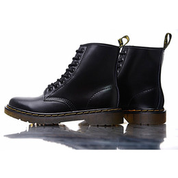 Designer Martin Genuine Leather shoes Luxury Brand Dr 1460 Motorcycle For  men women Slim fit shoes Lover snow Boots 4124b749b0