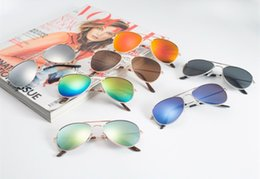 Glasses Sun Protection Australia - Free Shipping Fashion Baby Boys Kids Sunglasses Piolt Style Brand Design Children Sun Glasses 100%UV Protection Oculos De Sol Gafas