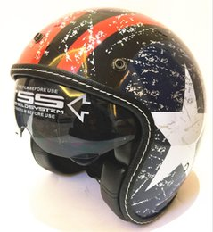 Half Helmet Black Australia - Adult Open Face Half Leather Helmet Harley Moto Motorcycle Helmet vintage Motorbike Vespa Casque Black leather H