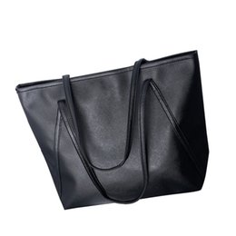 $enCountryForm.capitalKeyWord UK - ISHOWTIENDA PU New Bags Women Simple Summer Totes Larger Capacity Office Bags Soft Solid Color Leisure Women Bag bolsa feminina