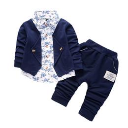 $enCountryForm.capitalKeyWord Australia - Kid Baby Boy Gentry Clothes Set Formal Party baby boy clothes winter Christening Wedding Tuxedo Bow Suit JAN14