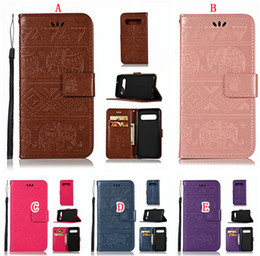 SamSung galaxy e5 flip coverS online shopping - Elephant Cartoon Wallet Leather Case For Samsung Galaxy S10 S10E MOTO G7 E5 Play GO Huawei P30 Pro Y9 Mandala Flower Stand Flip Cover