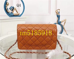 Low price Leather beLts online shopping - New hot leather small belt buckle bag Messenger bag lamb first layer leather shoulder bag factory lowest price size CM