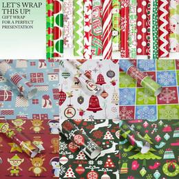 $enCountryForm.capitalKeyWord Australia - Christmas Wrapping Paper Gift Present Tree Santa Wrap Decorative Xmas Party Roll
