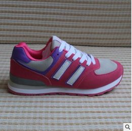 Product Brand Color Australia - Free shipping 2019 New Product Fashion Stylist Brand Roller shoes women's Lace-up sport shoes 17 color Size 36-40