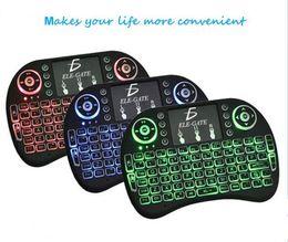 $enCountryForm.capitalKeyWord Australia - 4G wireless mini keyboard with house race lamp three color lighting gaming Keyboards