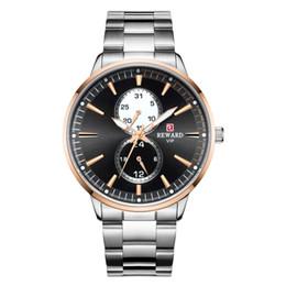 Best Male Wrist Watch Australia - Man Business Affairs Wrist minion Watch Function Fashion Stainless Steel Male Surface roles mechanical men's sport watches Best wristwatches