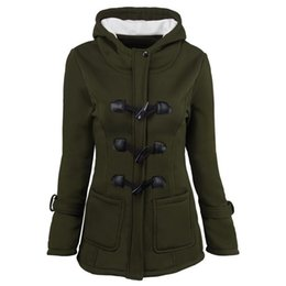 Womens Parkas Australia - Winter Parkas For Women Coats Thickening Jackets Long Sleeve Womens Outwear Parkas Tops Plus Size Clothing Wholesale