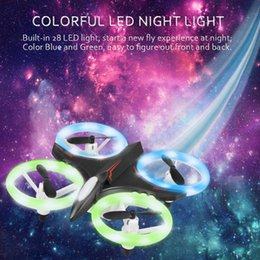 Micro Helicopter Toy Australia - Mini Drone Shatter Resistant Quadcopter 4ch Micro Flying Drone Rc Helicopter Remote Control Toys For Children VS JJRC H36