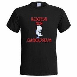 Wholesale ILLEGITIMI NON CARBORUNDUM MENS T SHIRT PRESENT GRIND YOU DOWN SAYING GIFT LATIN