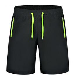 mens shorts 7xl NZ - 9xl 8xl 7xl 6xl Big Size Shorts Mens Plus Size 9xl Summer Shorts Men Knee Length With Zipper Pockets Beach Shorts Men Elastic Y19050503