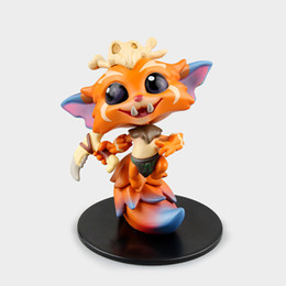 Link action figures online shopping - Action figure The Missing Link Gnar collection doll PVC cm box packed Game heros figurine world as gift for kid