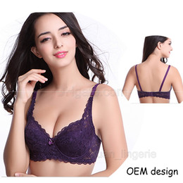 fcfd092ea61 Thin women plus size bralette New lace bras female lingerie deep V sexy big size  bra Plus Size brassiere