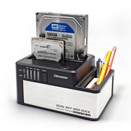 "$enCountryForm.capitalKeyWord Australia - 2.5 3.5"" Dual Disk External Hard Disk Box Base Serial Port USB3.0 External Mobile Hard Drive Docking Station"