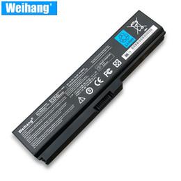 Batteria 10.8V 48WH a celle di Weihang Corea per Toshiba Satellite A660 C640 C650 C655 C660 L510 L630 L640 L650 U400 PA3817U-1BRS in Offerta
