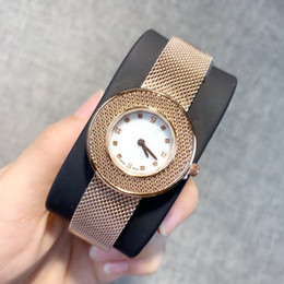 Wholesale 2019 Fashion Female stainles steel Watch Lady dress Clock Sports women Watch luxury New Style wristwatch high quality dropshipping