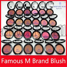 Low price makeup online shopping - Lowest Price M Blush Cosmetics Makeup Face Blush g Pressed Power Highlighter Brands Blusher Make Up Tools Single Color Colors