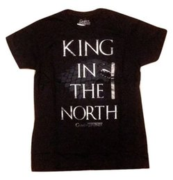$enCountryForm.capitalKeyWord Australia - Game Of Thrones King In The North Stark Direwolf T-Shirt NWT Licensed & Official Cool Tops Men'S Short Summer Straight O-Neck 100% Cotton