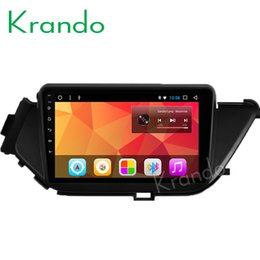 "Audio For Nissan Australia - Krando Android 8.1 9"" IPS Touch screen car Multmedia system for NISSAN BLUEBIRD 2015 radio player gps navigation wifi BT audio car dvd"