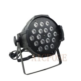 $enCountryForm.capitalKeyWord Australia - 18*12w Lights Power in and out LED Par 18x12W RGBW 4in1 LED Par Can Par 64 led spotlight dj projector stage light
