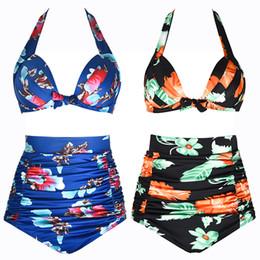 543904e176 Bucrsatn Free Shipping 2019 New sexy European and American hot spring  bathing suit ladies Bikini split high waist swimwear