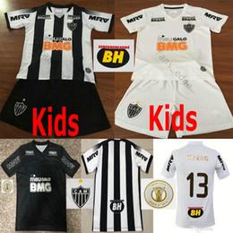 Trucks kiT online shopping - 2019 Atletico Mineiro Soccer Jerseys AUTO TRUCK R OLIVEIRA V CHARA Custom home away Black White Kids kit Football shirts