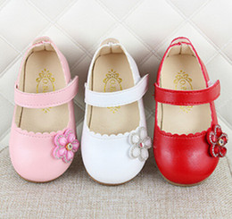 Discount shoes new style for boy - 2020 New Style Girls Shoes Flower Princess Shoes Single Shoe For Kids Baby Girl 1-3 Years Old Party For Children's