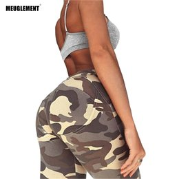 Camouflage Workout Leggings Australia - 2018 Leggings Women Workout Fitness Sexy Punk Trousers Camouflage Leggings For Women Printed legging Sporting gothic Pants With