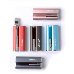 co2 box Canada - Colorful VAPMOD Box Mod 380mAh Vape Battery 510 Battery 710 Thread Oil Cartridge CO2 Atomizers Vapor Pen Starter Kit Ecig Battery