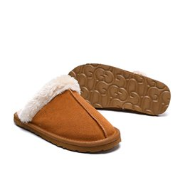 $enCountryForm.capitalKeyWord UK - 2019 sheep fur integrated slipper with wide elastic version with comfortable slipper size for women; 35-40