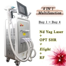tattooing removal machine prices Australia - SHR permanent hair removal machine nd yag laser tattoo removal machine rf beauty system Factory Price