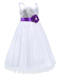 $enCountryForm.capitalKeyWord Australia - 2018White ivory First Communion Dresses for Girls Ball Gown Belt Pink Elegant Flower Girl Dress