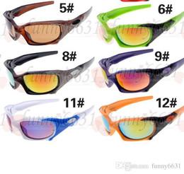 Mens Wholesale Glasses Australia - NEWEST MAN fashion Sunglasses high quality riding Sunglasses Mirror Lens Brand Designer Mens Sport Sunglasses women Bicycle Glass free ship