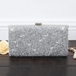 $enCountryForm.capitalKeyWord Australia - Hot Selling Diamantes Crystals Sequins Sparkly Handbag Party Wedding Bridal Purse Evening Clutch Prom Wallet Cross-Body Detachable Chain