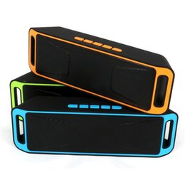 Discount big smart mobile - SC-208 Mini Portable Bluetooth Speakers Wireless Smart Hands-free Speaker Big Power Subwoofer Support TF and USB FM Radi