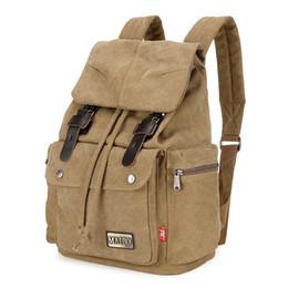 $enCountryForm.capitalKeyWord UK - Lady Canvas Sport Outdoor Packs Backpack Schoolbag Men Climbing Backpack Outdoor travel bag With String Zipper Pocket And Slot Phone Pocket
