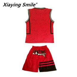 $enCountryForm.capitalKeyWord Australia - Kids Sets Boys Blank Basketball Jerseys Youth Sports Kits Children Running Uniforms V-neck Can Customized Any Logos Q190521