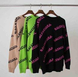 Ingrosso NUOVO AGGUATO DOLCEVITA MAGLIA uomini donne maglioni streetwear ovest hip hop Harajuku casuale pullover highcollarmaglione BALENCIAGA