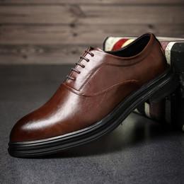 $enCountryForm.capitalKeyWord Australia - DESAI Oxfords Leather Men Shoes Fashion Casual Pointed Top Formal Business Male Wedding Dress Flats Wholesales Size 38-44
