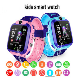 sos smart watch for kids NZ - LBS Kid Smart Watches Baby Watch for Children SOS Call Location Finder Locator Tracker Anti Lost For IOS Android IP67 waterproof