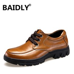 $enCountryForm.capitalKeyWord Australia - New High Quality Men's Shoes 100% Genuine Leather Casual Shoes Waterproof Work Cow Leather Loafers Plus Size 37-50