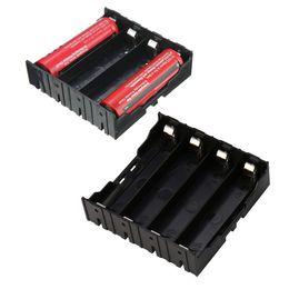 $enCountryForm.capitalKeyWord Australia - DIY Storage Box Holder Case For 4 x 18650 Rechargeable Battery Organizer Box 78x80x24mm Battery Case