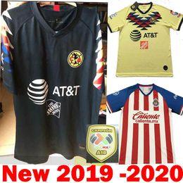 c57ac0fb575 DHL Shipping 2020 Mexico Liga MX CHIVAS Guadalajara Club America UNAM  TIGRES 2019 Soccer Jerseys 19 20 cruz azul third Away Football Shirts