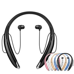Iphone Stereo Player Australia - V8 Bluetooth Headset Wireless Stereo bluetooth earphone headphone Lound speaker Outside Music Player For iphone X Samsung LG Smartphone