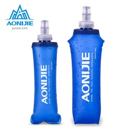 $enCountryForm.capitalKeyWord Australia - *AONIJIE SD09 SD10 250ml 500ml Soft Flask Folding Collapsible Water Bottle TPU Free For Running Hydration Pack Waist Bag Vest