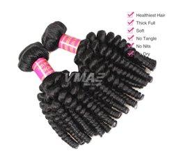 $enCountryForm.capitalKeyWord NZ - 9A Human Virgin Funmi Hair Extension 10 Bundles Brazilian Aunty Funmi Loose Wave Bouncy Curls Funmi Human Hair Wave