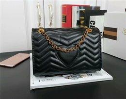 $enCountryForm.capitalKeyWord Australia - Fashion Bag Designer Shoulder Bag Heart Pattern High Quality Chain Leather Women Bag Low Price Promotion Free Shipping