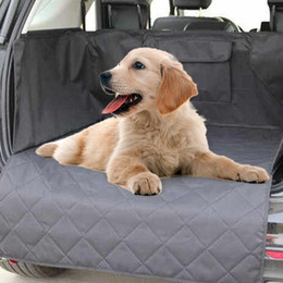 $enCountryForm.capitalKeyWord Australia - Waterproof Pet Car Seat Cover Non-slip Trunk Cargo Liner Oxford Pat For Dog Pet Car Seat Protector